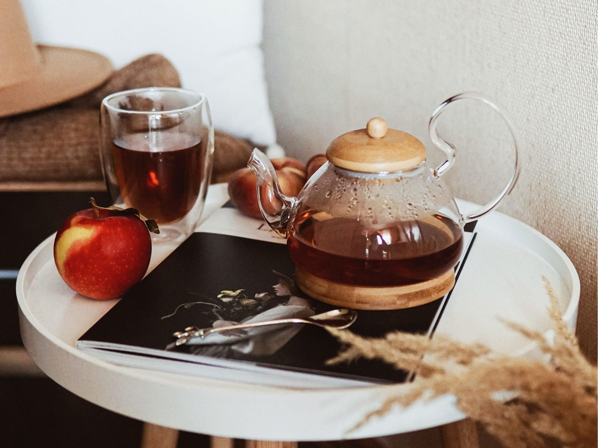 秋の不調撃退に!びわ茶で温活で始めよう♪